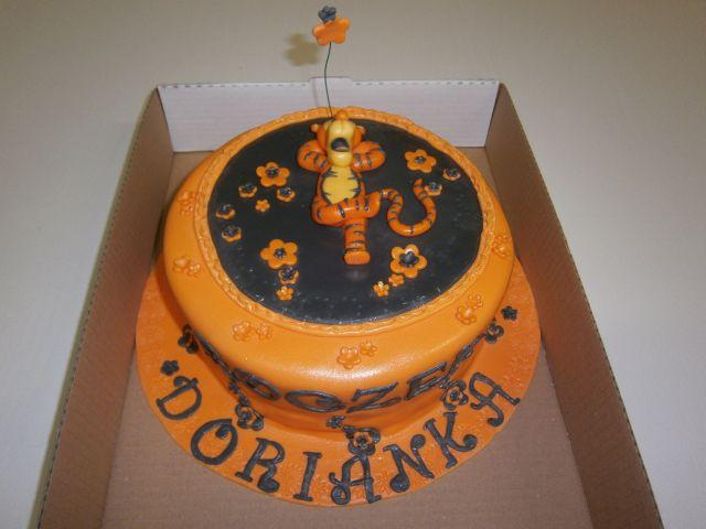 Nabłyszczanie tortu